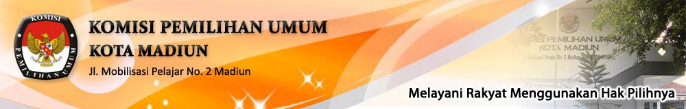 Website KPU Kota Madiun